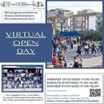 Virtual Open Day  - 9 Gennaio 2021