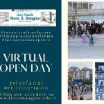 Virtual Open Day  - 21 Gennaio 2021