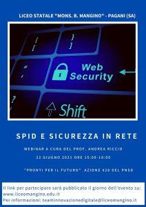 "Webinar ""SPID e sicurezza in rete"""
